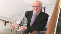 John Looney voted Cork Person of the Year 2016 for decades of work with sick children