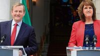Enda Kenny says he has full confidence in Joan Burton amid calls of 'cronyism'