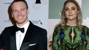 Irish stars Saoirse Ronan and Michael Fassbender fly the flag for Ireland with BAFTA nomiations