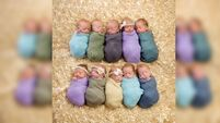 What a line-up: Limerick hospital celebrates birth of quads, triplets and twins