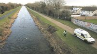 Limbs discovered in Dublin canal as part of murder inquiry