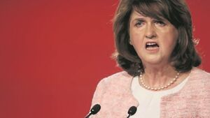 Gerry Adams 'needs a reality check', says Joan Burton