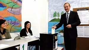 Enda Kenny aims to bore us into voting for him