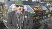 Mattie McGrath is the man in the van