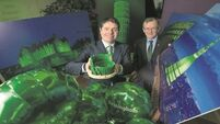International sites go green for Patrick's Day