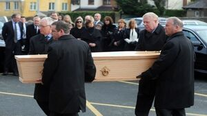 Faithful farewell to 'Fr Jack' actor Frank Kelly