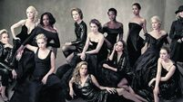 All-female, diverse Vanity Fair stars - including Saoirse Ronan - put Oscars in the shade
