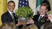 Enda Kenny to meet Barack Obama in the US during St Patrick's Day celebrations