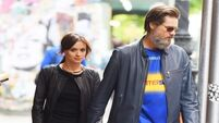 Jim Carrey arrives in Ireland for funeral of ex-girlfriend Cathriona White
