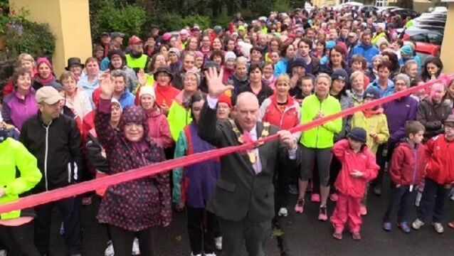 VIDEO: The Pink Ribbon Walk in Cork