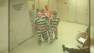 Inmates break free from cell to save collapsed guard