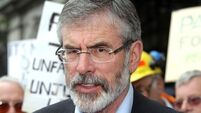 Trawl through our accounts, says Gerry Adams