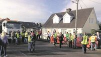 Anti-water charge protestors adhere to 'sustained resistance' in Cork suburbia