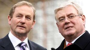 Former Tánaiste Eamon Gilmore  supports Kenny's army claim