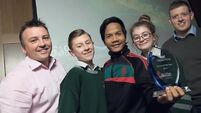St Colman's Community College in Cork named School of the Year at Ocean Hero Awards