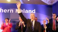 North transformed for better, says Peter Robinson in final DUP speech