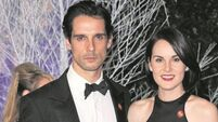 Downton Abbey star Michelle Dockery's tribute to 'hero' fiancé