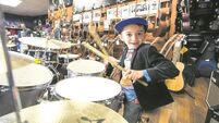 WATCH: 5-year-old Limerick drummer Michael is making big musical vibes