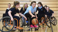 VIDEO: The Wheelchair Basketball Tournament at The Mardyke Arena, UCC