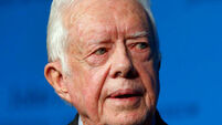 Jimmy Carter's grandson says tests show the former US president's cancer has gone