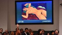 Amedeo Modigliani's 'Reclining Nude' nets near-record $170m at auction