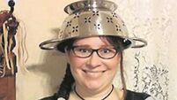 Quirky World: US woman allowed to wear colander on head for driving licence on religious terms