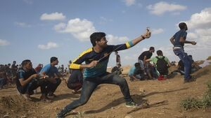 Five protesters die in Gaza clashes