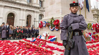 Tribute paid to millions killed in World War I on Armistice Day