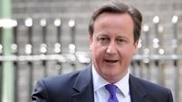 David Cameron denies being a jinx over sporting defeats