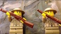 Cork primary school recreate the Battle of the Somme using Lego