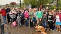 Visually impaired group take a walk on the blind side of Cork's paths