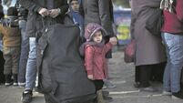 UN: Children on refugee route 'may freeze to death'