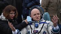 Nasa's Scott Kelly back down to Earth after 340 days spent in space