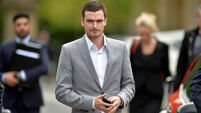 Adam Johnson trial jury shown picture of player's 'groin'