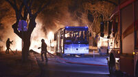 Ankara rush-hour bomb blast kills at least 28