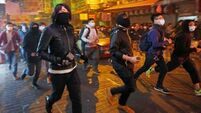 Shots fired during bloody Hong Kong street clashes