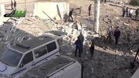 23 killed as missiles hit three hospitals in rebel-held Syrian towns