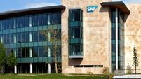Europe's largest software company SAP shares climb on reaching 2015 targets