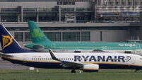 Irish airlines silent in face of compensation threat