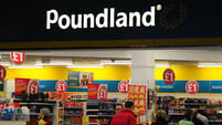 Poundland shares slump 10% as online shopping hits sales