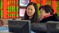 China drop drives global shares to new year rout