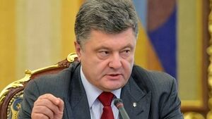 Ukraine's president Petro Poroshenko must bring corrupt officials to book