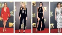 On the red carpet: Brittany Snow, Cara Delevingne, Kendall Jenner, Emilia Clarke