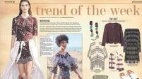 Trend of the week: Boho buzz