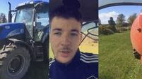 This Waterford lad's Snapchat tutorial on how to spread slurry is genius
