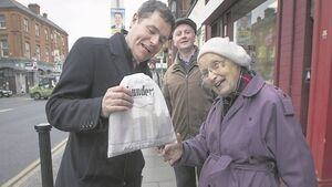 Fight for his political life begins on a cold street corner at 8am for Paschal Donohoe
