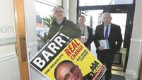 AAA candidate Mick Barry targets Kathleen Lynch's seat