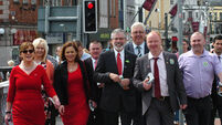 Sinn Fein are unlikely to follow the lead of British