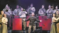 Tommy Steele is stepping into the big band shoes of Glenn Miller