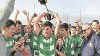 Five see red as Colman's edge Gaelcholáiste in fiery final